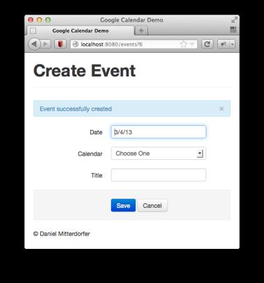 Google Calendar Java Api Create Event