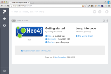 Das Neo4j 2.0 WebInterface