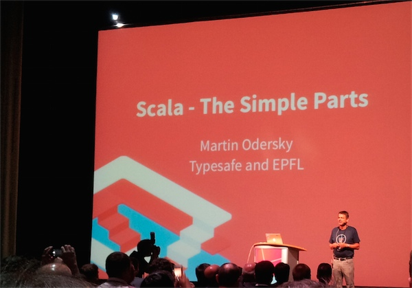 Scala Days 2014 - Scala - The Simple Parts - Keynote